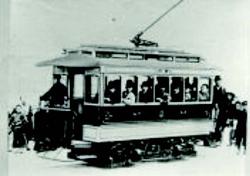 1895(明治28)年、京都に日本で最初の路面電車が走る。 (チンチン電車)1912(明治45)年 京都市電車開業
