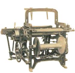 1921年(大正10年)当時の織機