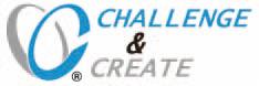 行動理念「Challenge & Create」ロゴマーク