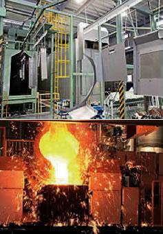 平成18年に稼働した伊賀事業所の板金・鋳物工場