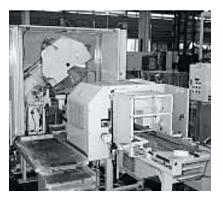大形丸鋸切断自動化ライン「TK7M-300GL」