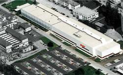 平成19年10月オープン予定のDIXI MACHINES工場(スイス)