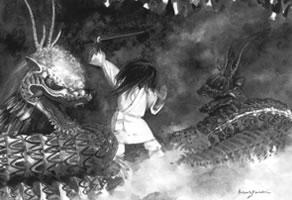 素戔嗚尊と八岐大蛇