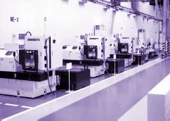 ロータリ研削盤組立工場(恒温室)