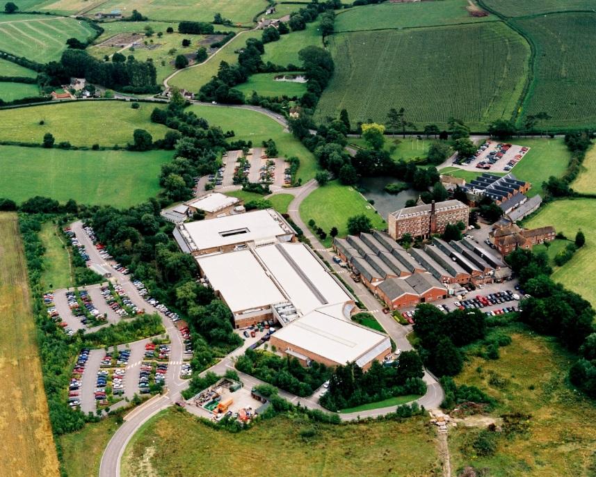 英国Renishaw plc本社