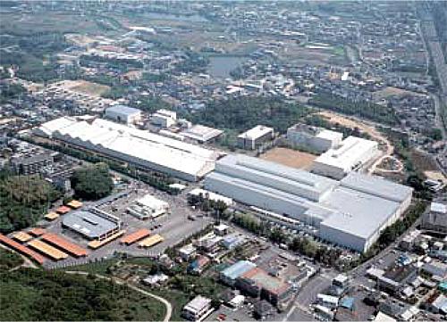 信太山工場全景写真