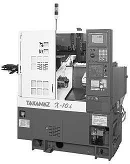 CNC旋盤 X-10(ローダ搭載)